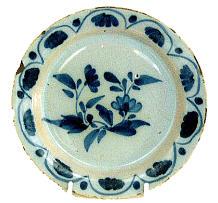 A Delft plate c1750