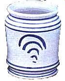 Delft ointment pot c1700